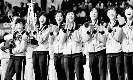 中国女排五连冠