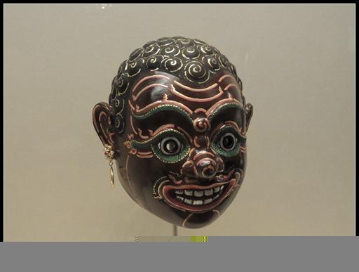 孔剧与洛坤侬面具