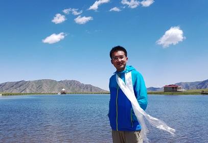 康乐草原 圣湖