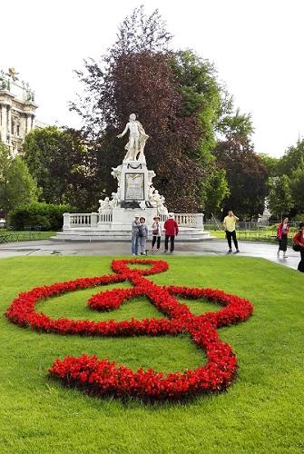 莫扎特纪念像