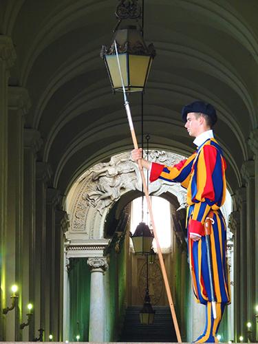 圣彼得大教堂卫兵