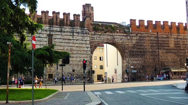 维罗纳老城区