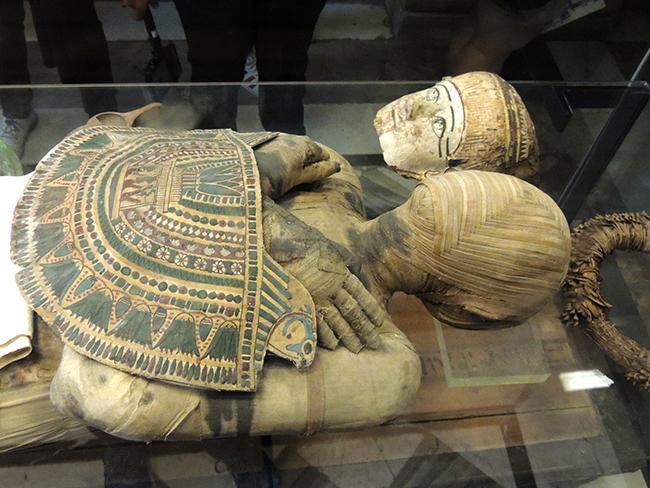 卢浮宫里的埃及文物