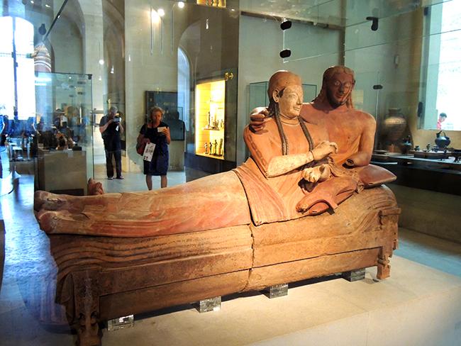 伊特鲁立亚艺术:夫妻棺材