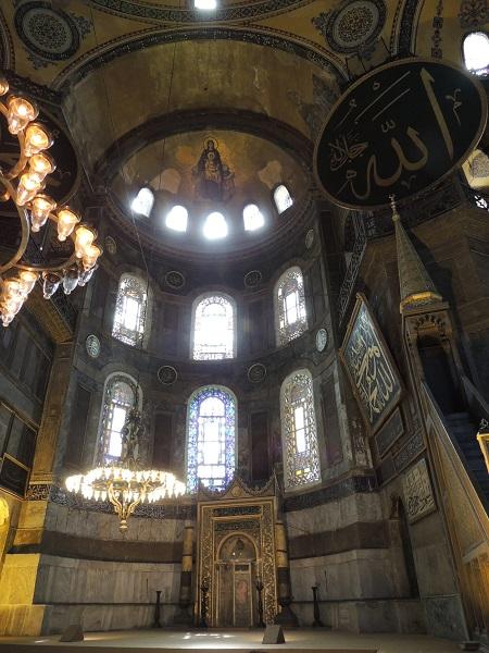 土耳其圣索菲亚大教堂内景