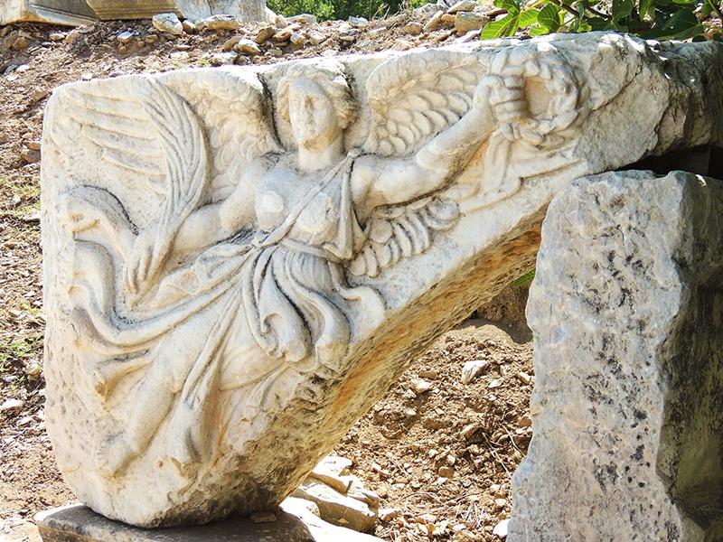 胜利女神浮雕